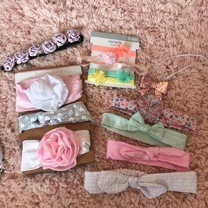 Babygirl bow headbands
